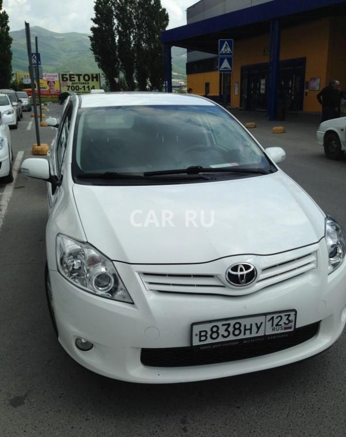 Toyota Auris, Анапа