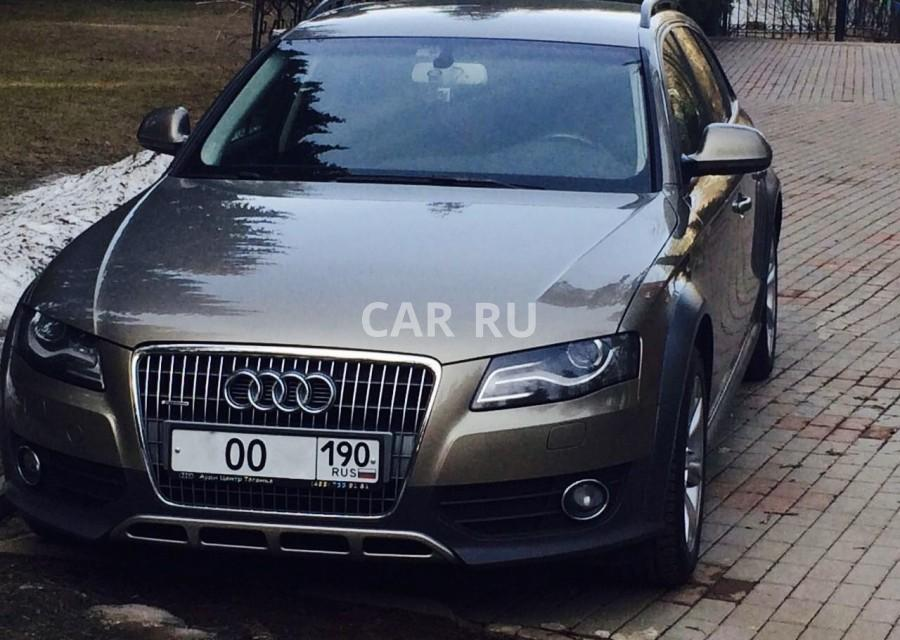 Audi Allroad, Барвиха