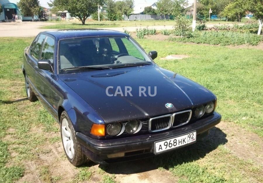 BMW 7-series, Белая Глина