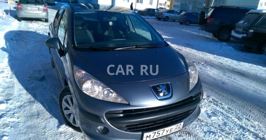 Peugeot 207, Барнаул