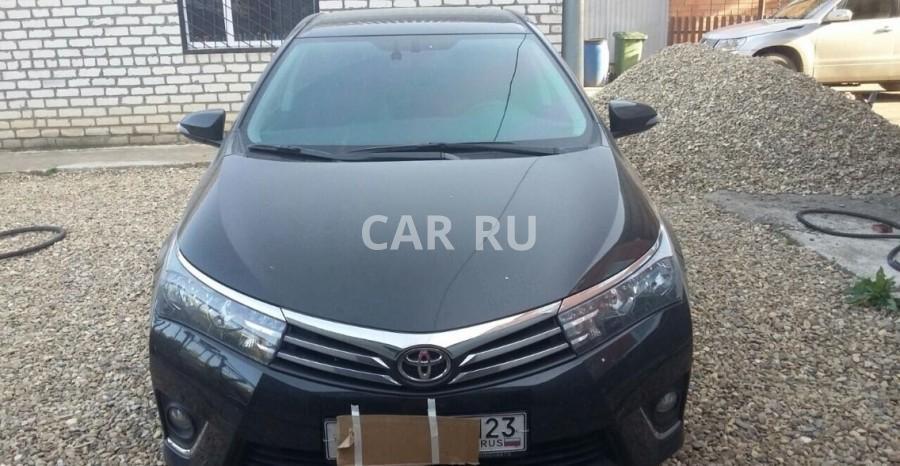 Toyota Corolla, Армавир