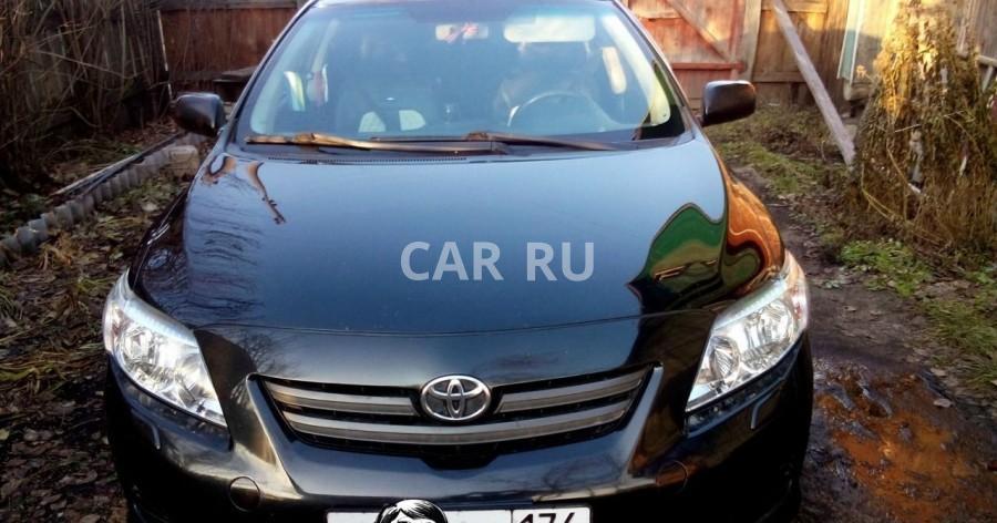 Toyota Corolla, Аша