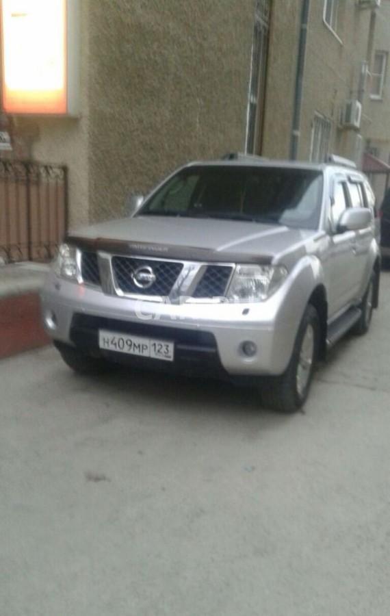 Nissan Pathfinder, Анапа