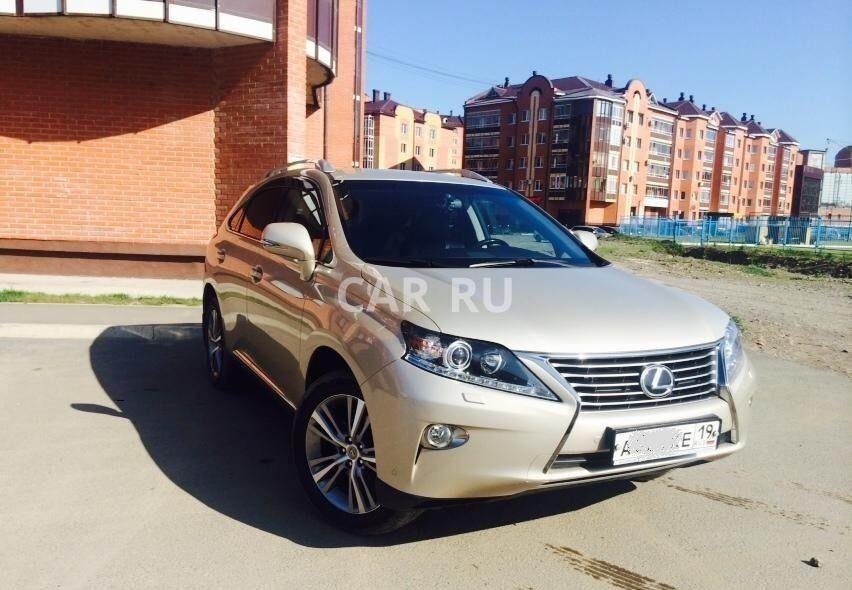 Lexus RX, Абакан