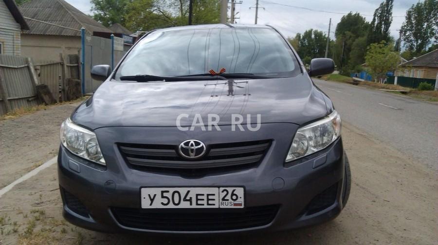 Toyota Corolla, Александровское