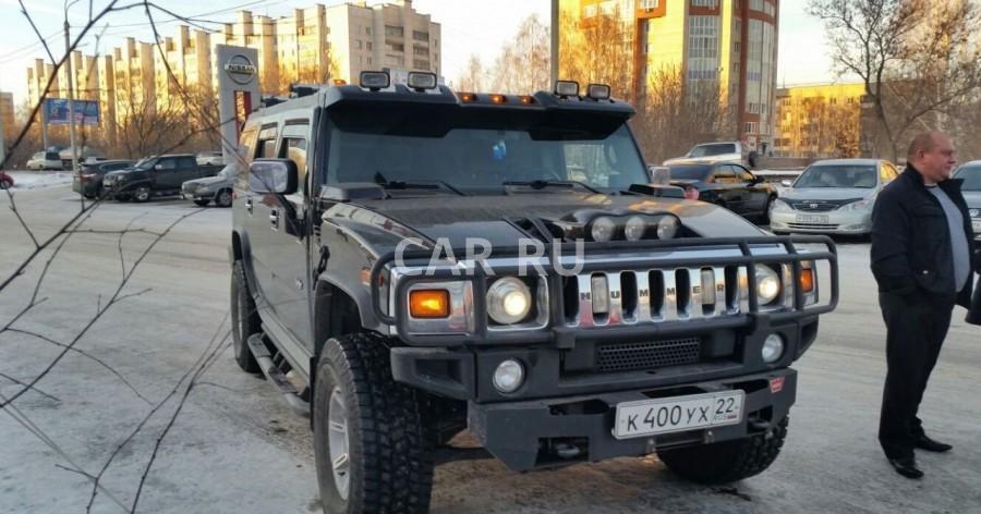 Hummer H2, Барнаул