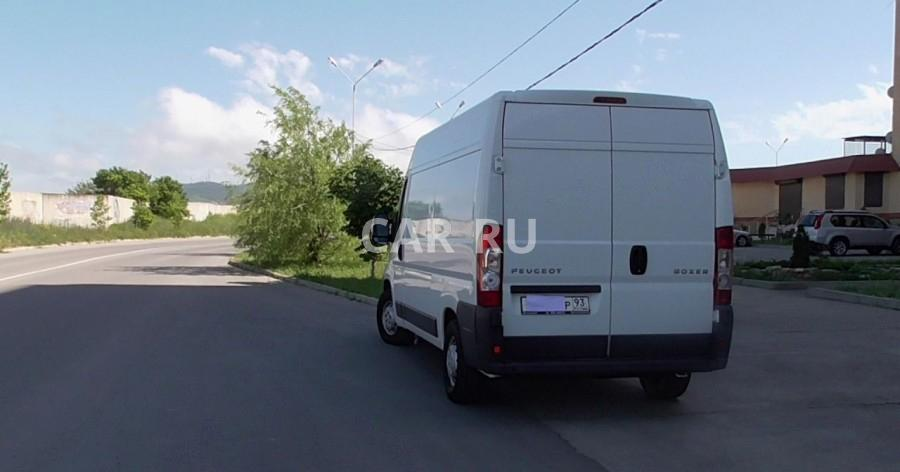 Peugeot Boxer, Анапа