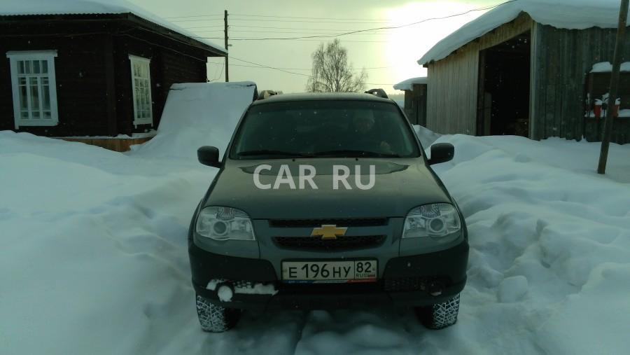 Chevrolet Niva, Кудымкар