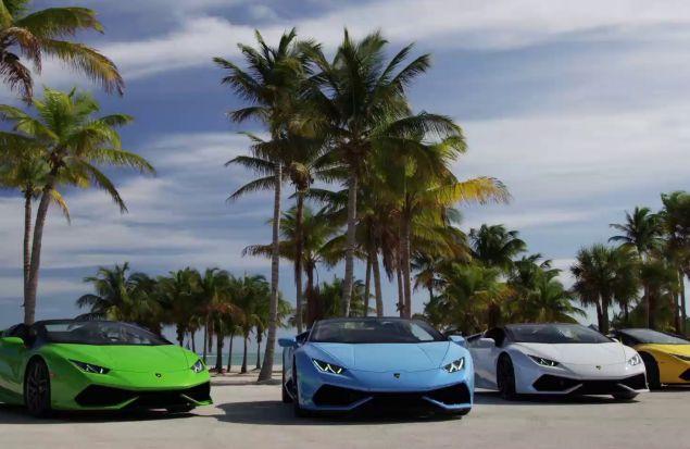 Lamborghini в Майами
