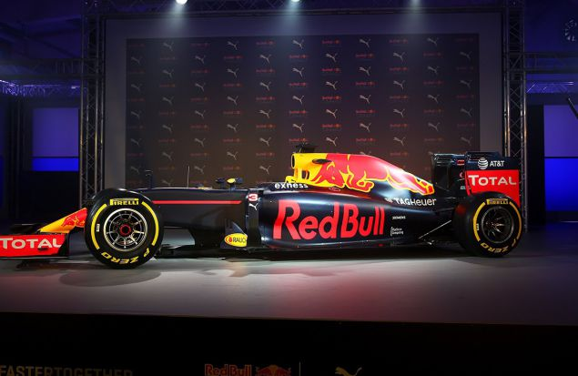 Презентация ливреи Red Bull Racing