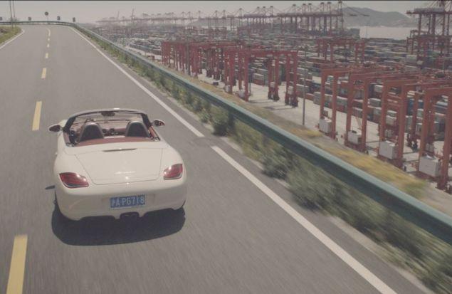 Холо Лу и его Porsche