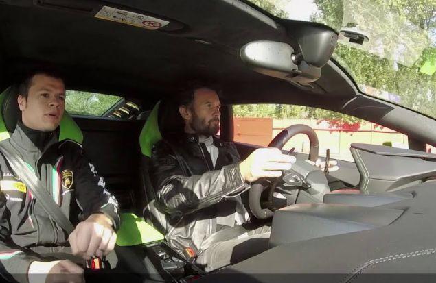 На трассе Lamborghini Esperienza