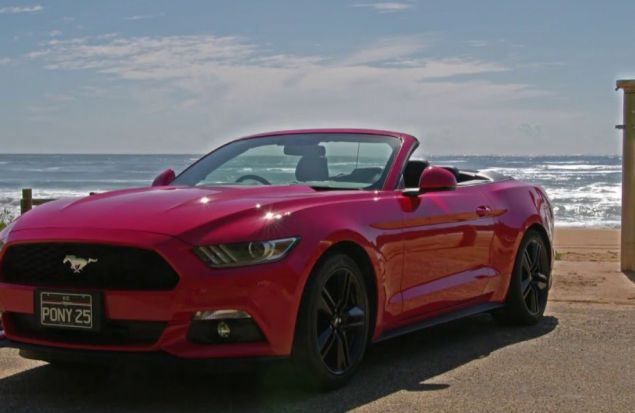 Mustang в Австралии