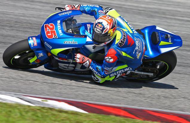 Suzuki на тестах MotoGP