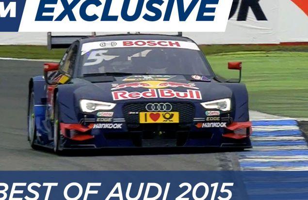 Audi. Лучшее из DTM-2015