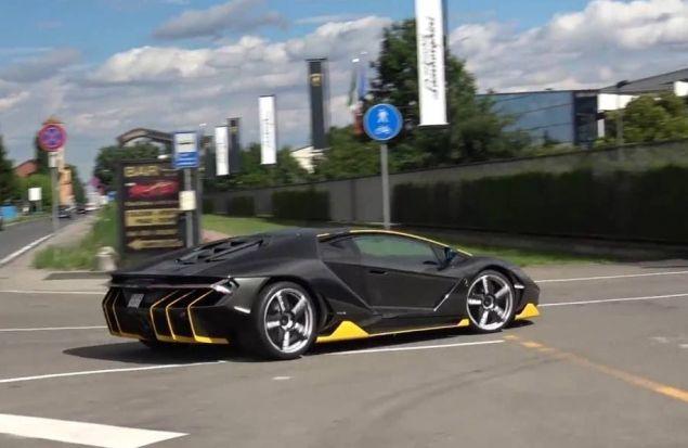 Lamborghini Centenario за 2,5 млн долларов ))