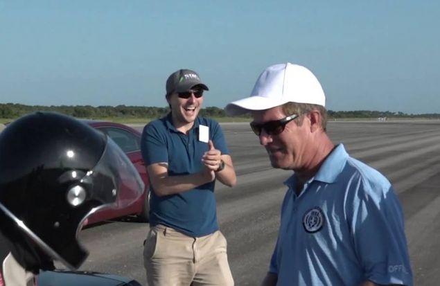330,8 км/ч от электрического Corvette — новый скоростной рекорд
