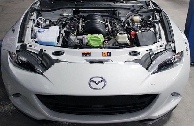 Mazda MX-5 обзавелся движком от Corvette С6 — WTF?