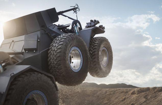 Реальный боевой четырехколесный дружище — Toyo Tires Ferret