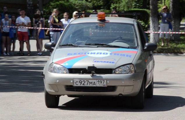 Беспилотный автомобиль на основе Lada Kalina