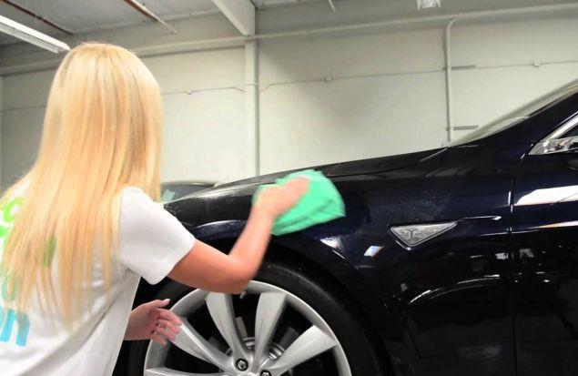 Как помыть машину (видео)