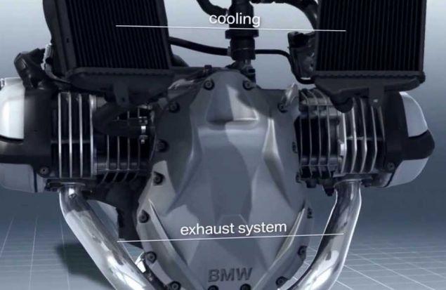 Познай как работает двигатель мотоцикла BMW