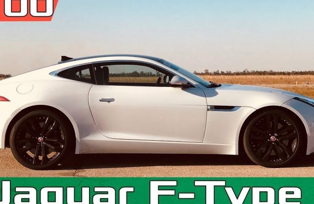 Jaguar F-TYPE R V8 550 лс AWD 0–100 км/ч — реальный разгон / Acceleration / Launch Control Racelogic
