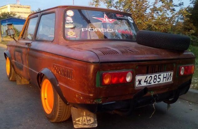 2000 км вместе с Rat look Запорожцем /Выставка Old car land/ В гостях у Sumy Racing Team / Часть 7.