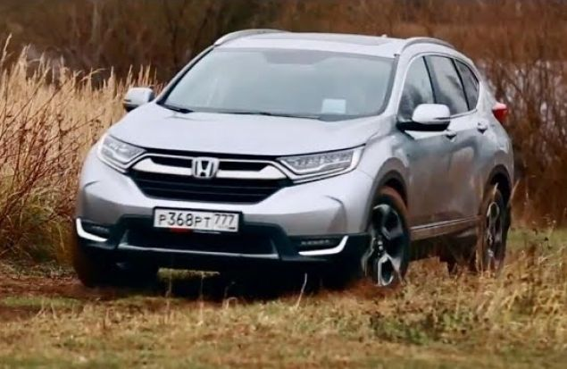 Новый Honda CR-V Лухури-в-грязь Стайл. Тест Драйв Игорь Бурцев