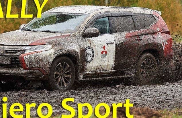 Mitsubishi Pajero Sport 2017 за рулем Хироши Масуока — обзор Александра Михельсона