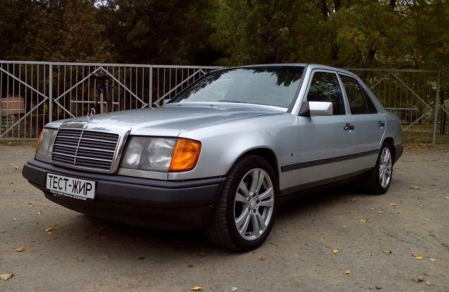 Автомобиль за 3000 долларов. Легендарный Mercedes-Benz W124