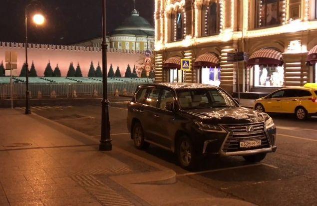 Одна ночь с Lexus LX 2018