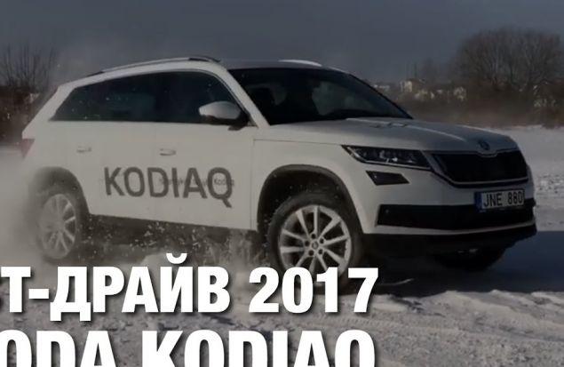 Skoda Kodiaq Тест Драйв и Обзор