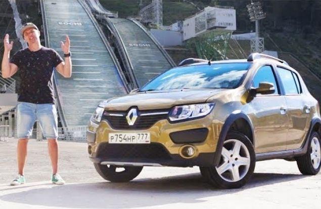Renault Sandero Stepway 2017 Тест Драйв #CочиФорния Эдишен — 1. Игорь Бурцев