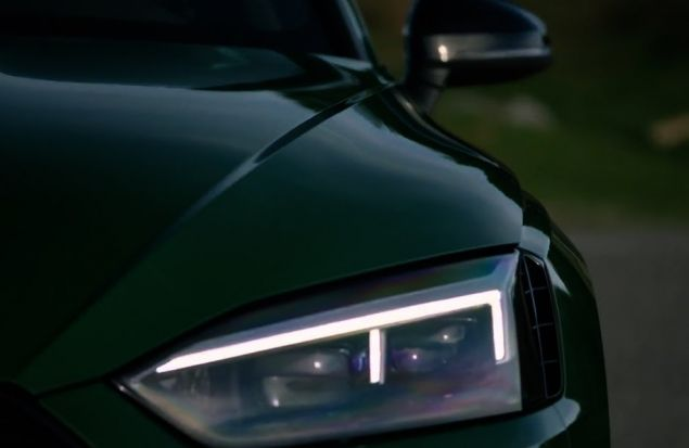 AUDI RS5 Coupe 2018 — Хищник