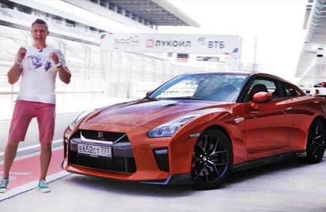 Nissan GTR 2017 Что Нового? Подробности. Гоняем По Треку Формулы 1. Тест Драйв Игорь Бурцев
