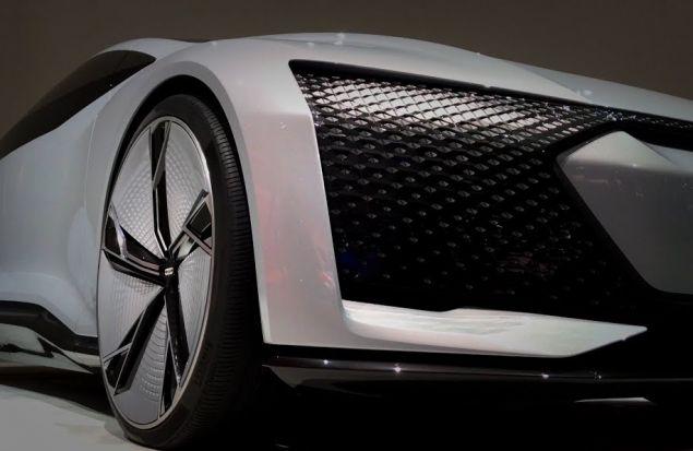 Новая Audi A9, которую назвали Aicon
