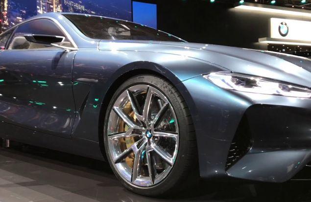 Вот она, BMW 8 серия. Злая, агресивная, пугающая. Уже хочу.