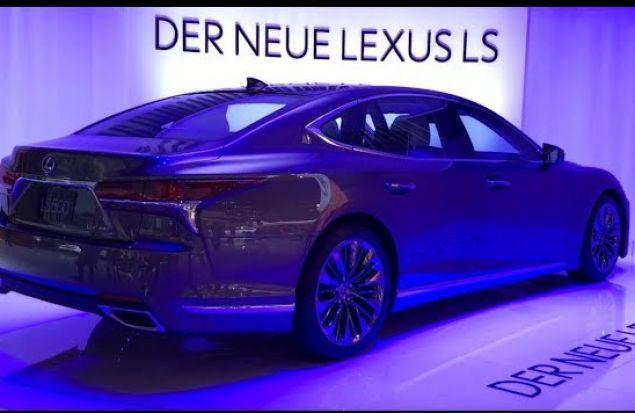 Новый роскошный Lexus LS 500 2018