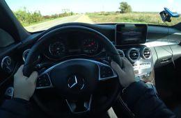 Mercedes-Benz C180 разгон 0-100! Достаточно ли 150 лс?