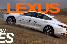 Новый LEXUS ES 250 - 2018 - тест драйв Александра Михельсона