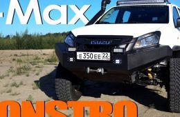 Пикап Isuzu D-Max - MONSTRO - тест драйв Александра Михельсона