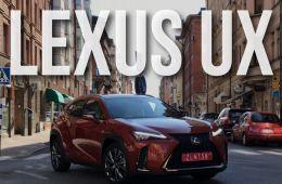 Lexus UX - Маленький, да удаленький