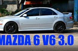 Мазда 6 V6 240 л.с. Обзор от владельца