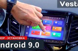 ЛАДА ВЕСТА лучше с ММС Android 9 0 SEICANE обзор и установка от Энергетика