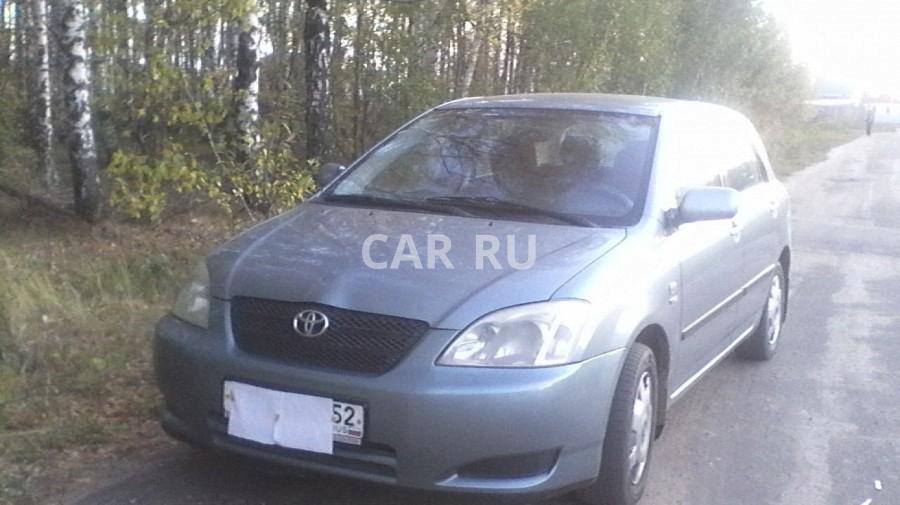 Toyota Corolla, Арзамас