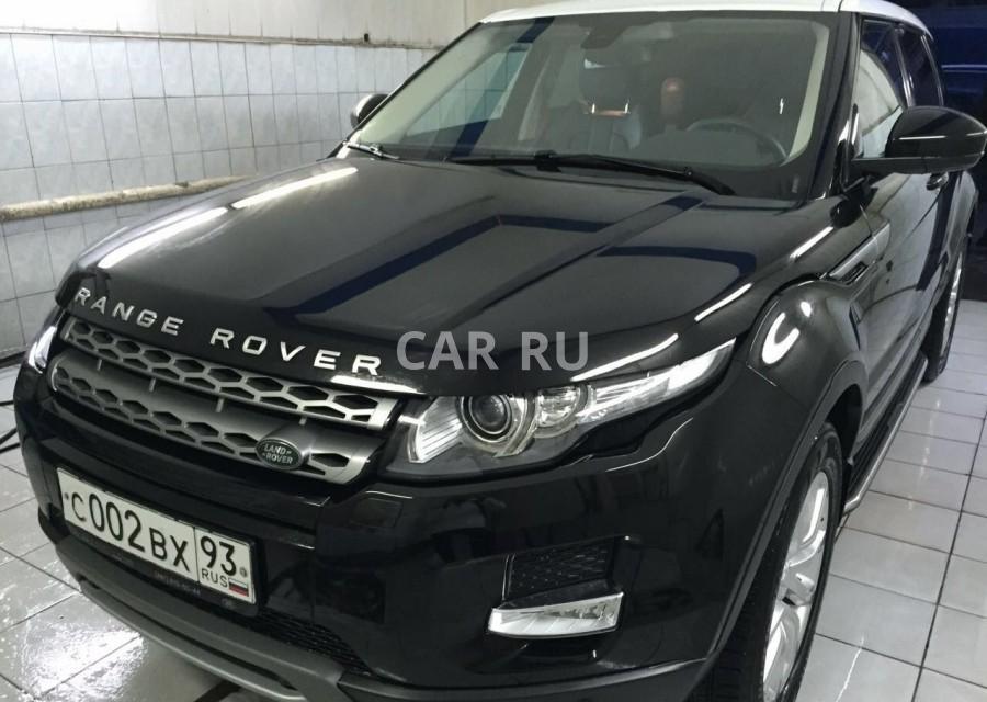 Land Rover Range Rover Evoque, Анапа