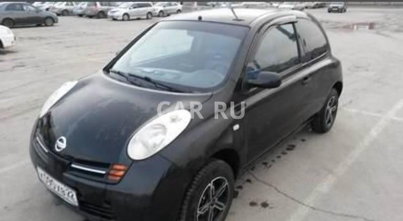 Nissan Micra, Барнаул