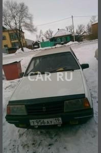 Lada 2109, Абакан