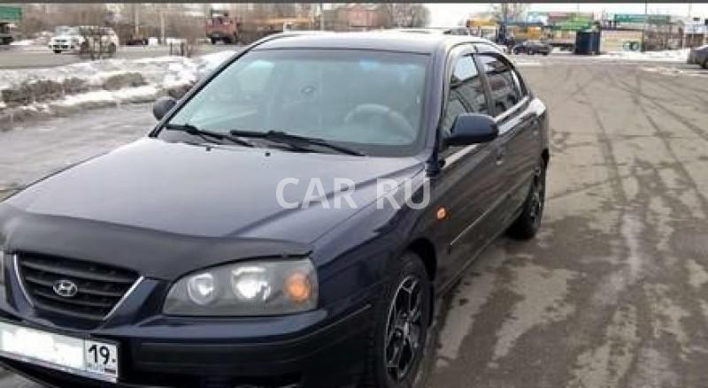 Hyundai Elantra, Абакан